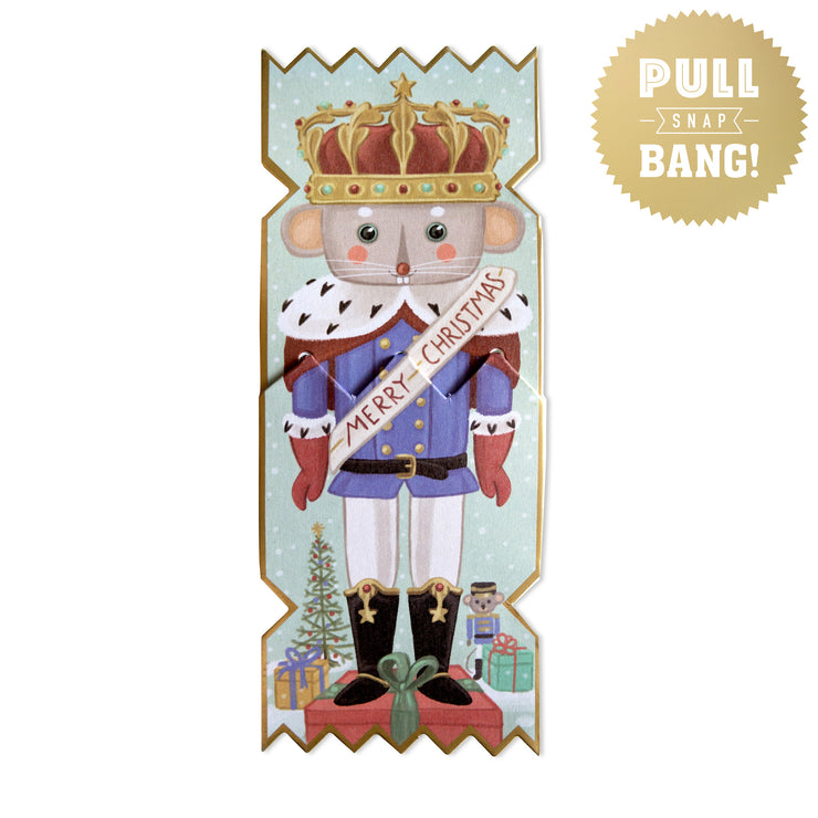 'Nutcracker Rat King' Cracker Card