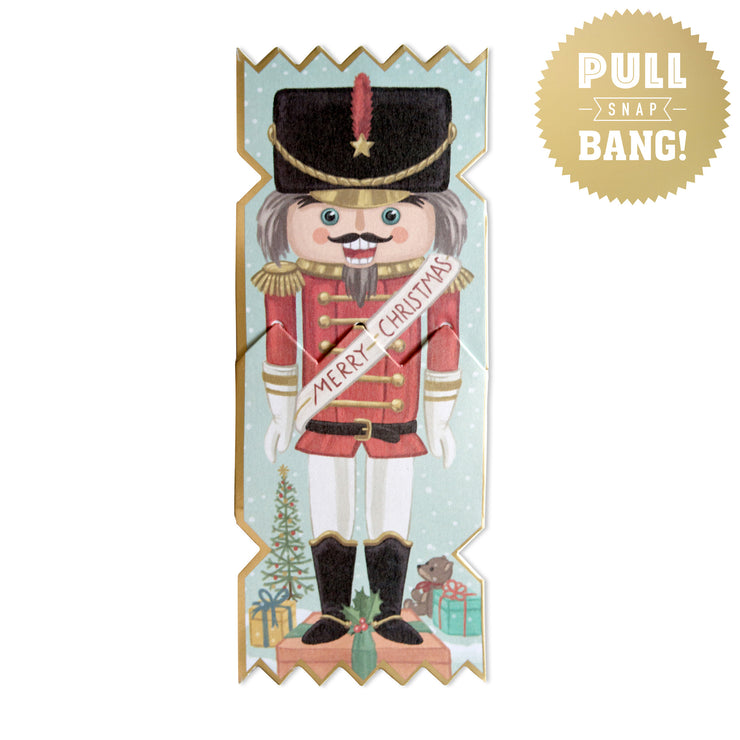 'Nutcracker Soldier' Cracker Card