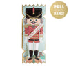 Nutcracker Soldier Christmas Cracker Card