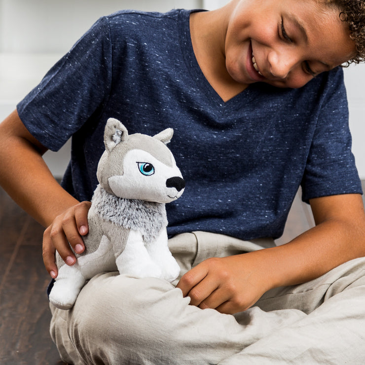 PNP Personalised Okidä Husky Plush Toy