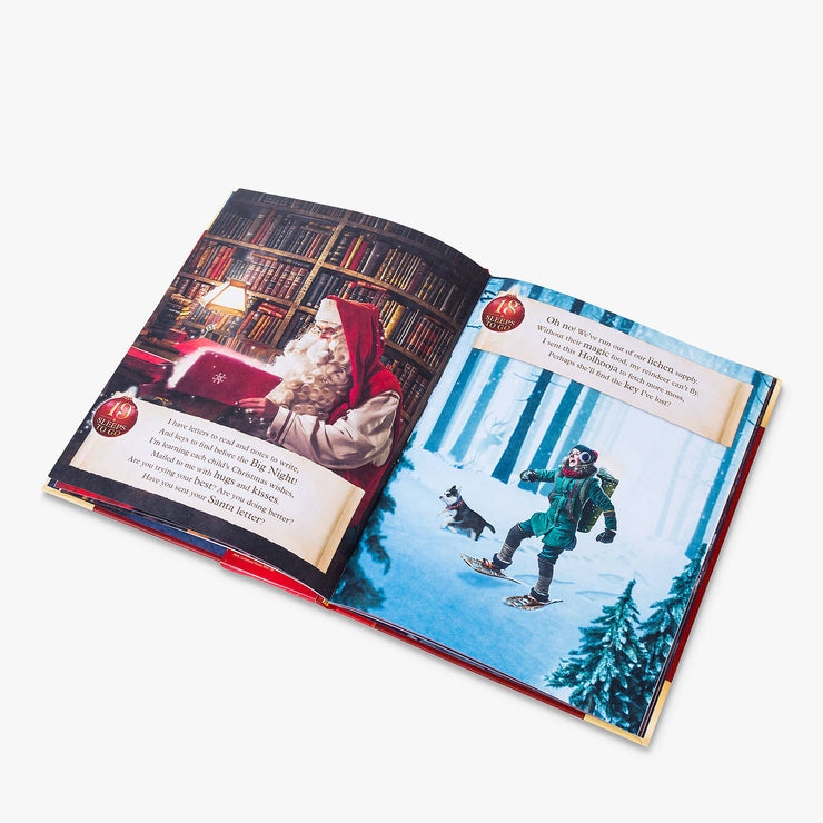 PNP Personalised Christmas Storybook & Häni Reindeer Gift Set