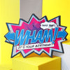 'Wham!' Comic Cracker Card