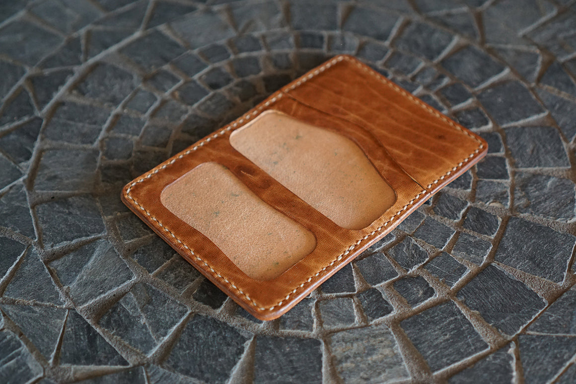 Custom Warden - Horween Natural Shell Cordovan and Natural Dublin Horsehide