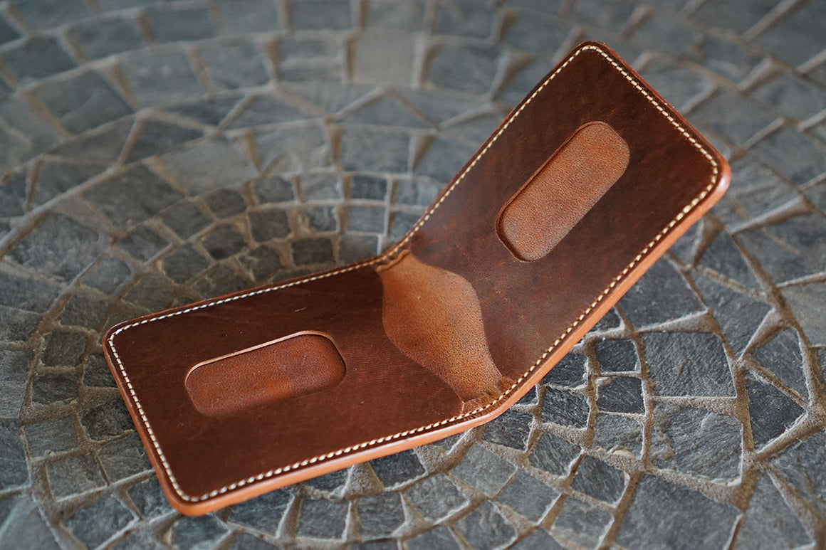 Vanguard - Heng Long Chocolate Crocodile and Horween Brown Nut Dublin Horsehide