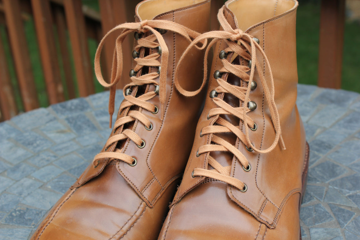 Flat Waxed Boot Laces