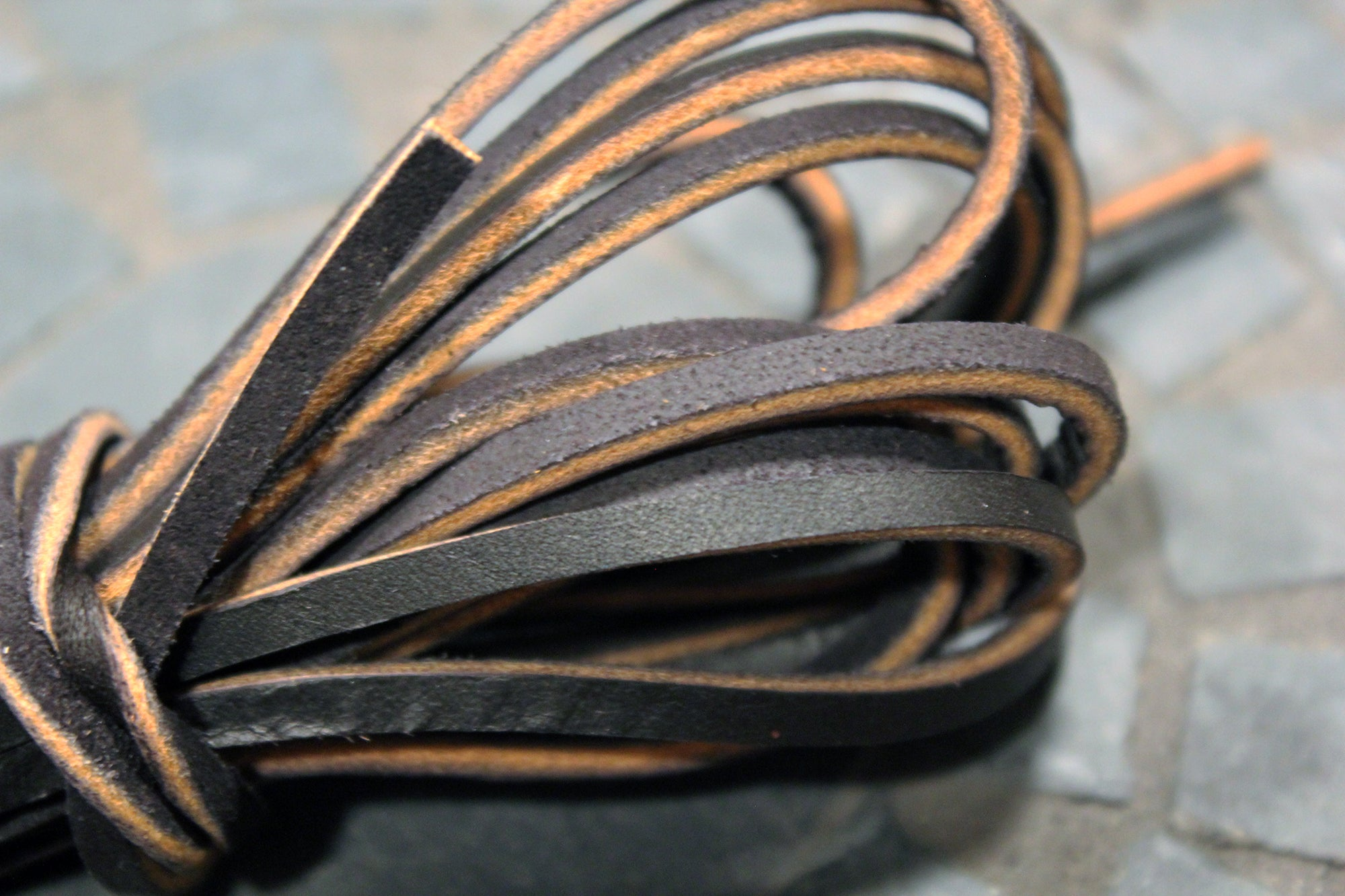 72 Rawhide Leather Boot Laces Guarded Goods