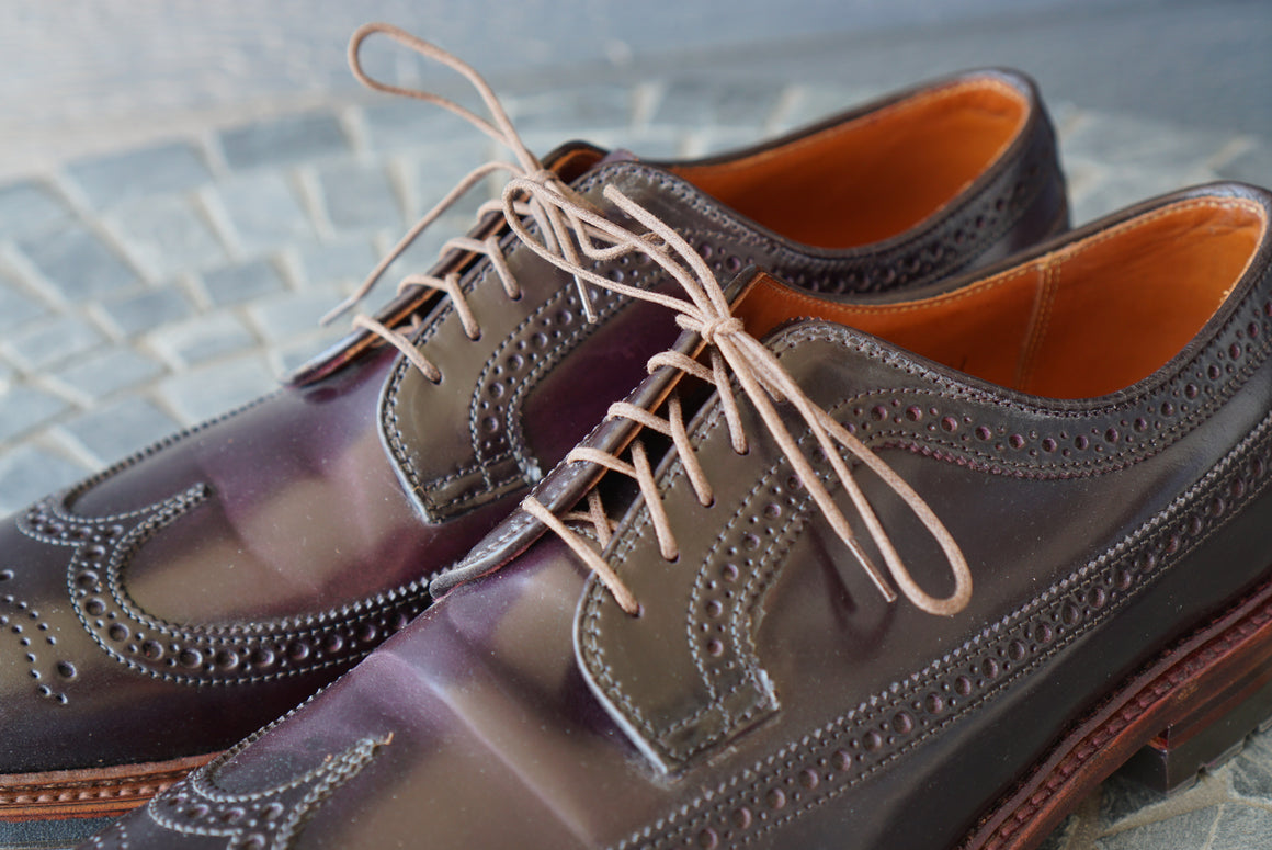 "33"" Round Cord Waxed Shoe Laces"