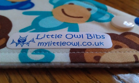 My Little Owl Bib with URL