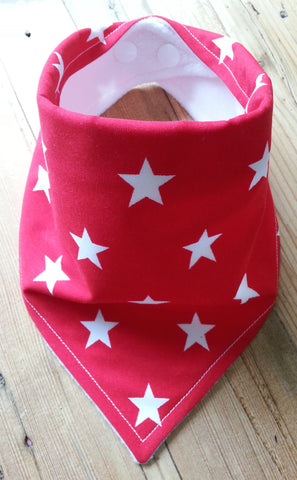 Red Stars Bandana Dribble Bib
