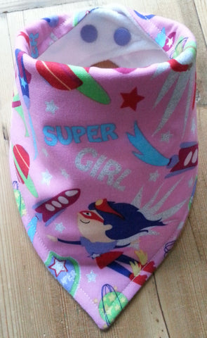 Super Girls Bandana Dribble Bib