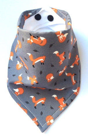 Mini Foxes Bandana Dribble Bib