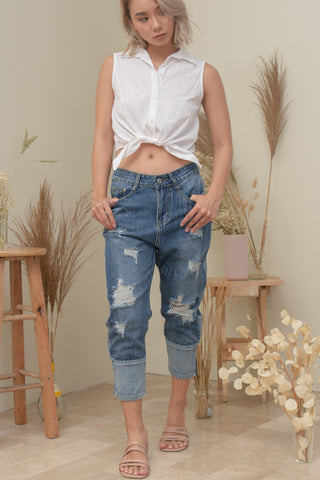 NEO CROPPED JEANS