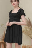 MAXINE DRESS IN BLACK