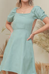 SANDY DRESS IN TEAL