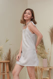 DAHLIA DRESS IN TAUPE