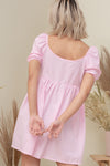 CORINNE BABY DOLL DRESS