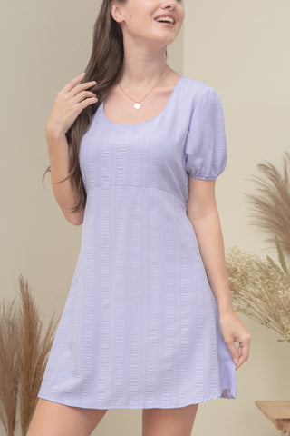 DANA DRESS IN LILAC