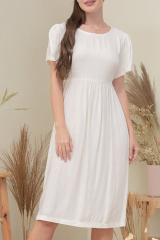 FINLEY DRESS IN WHITE