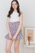 Load image into Gallery viewer, BETSY MINI SKIRT IN PURPLE