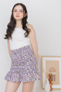 BETSY MINI SKIRT IN PURPLE