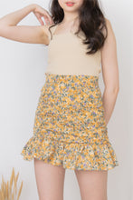 Load image into Gallery viewer, BETSY MINI SKIRT IN YELLOW