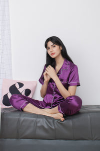 SASHA SLEEPWEAR IN VIOLET
