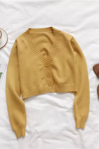 NESSY CROPPED CARDIGAN