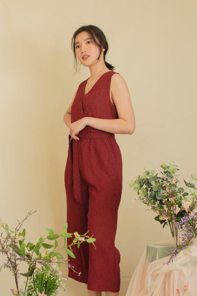 GRETCHELLE WOOL JUMPSUIT