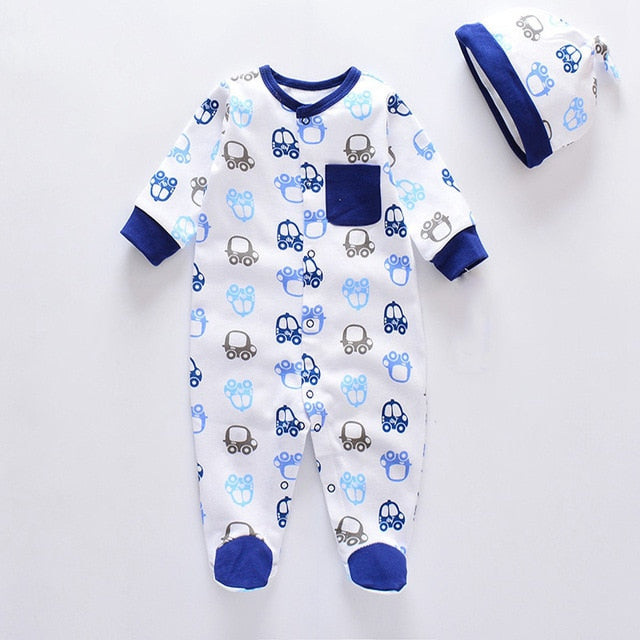 100% Cotton Baby Clothes Sets