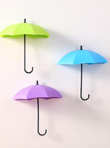 3 Pcs Creative Cute Umbrella Hook
