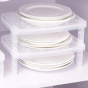 Multi Layer Anti-bacteria Vertical Dish Rack