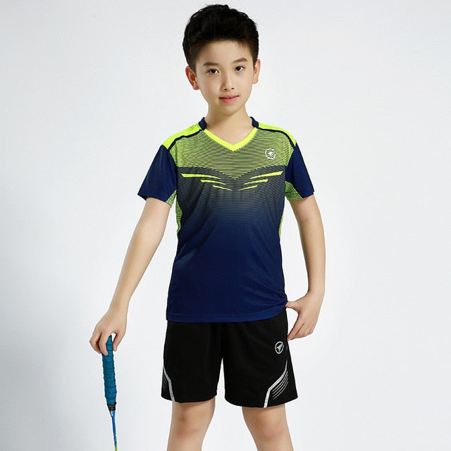 New Children Badminton Clothes
