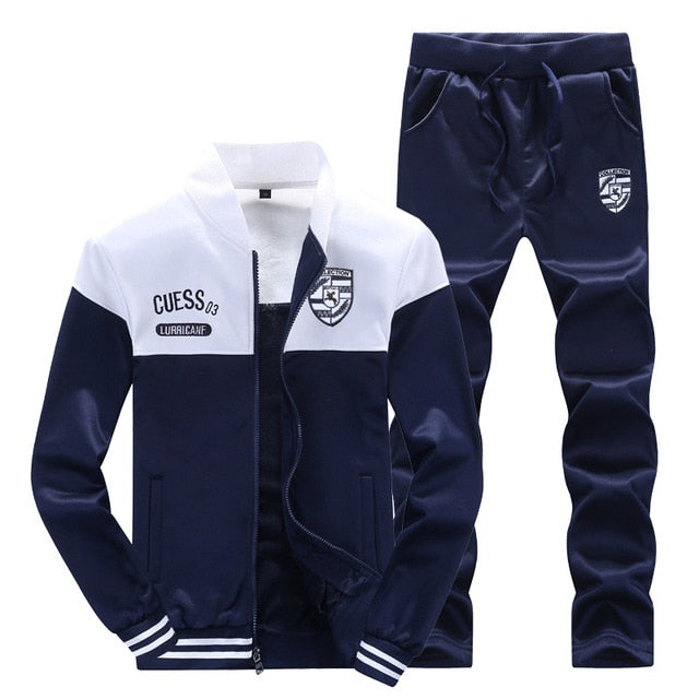 Autumn Zipper Casual Tracksuit