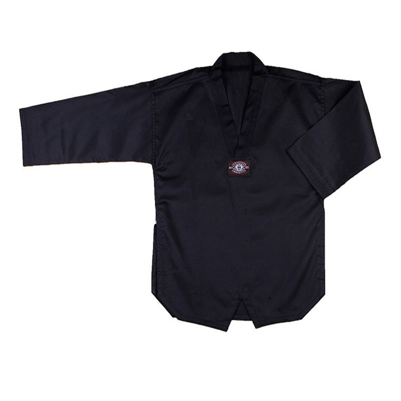 Black Judo Karate Uniform