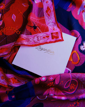 Eternal Lovers - Silk Scarf No. 5