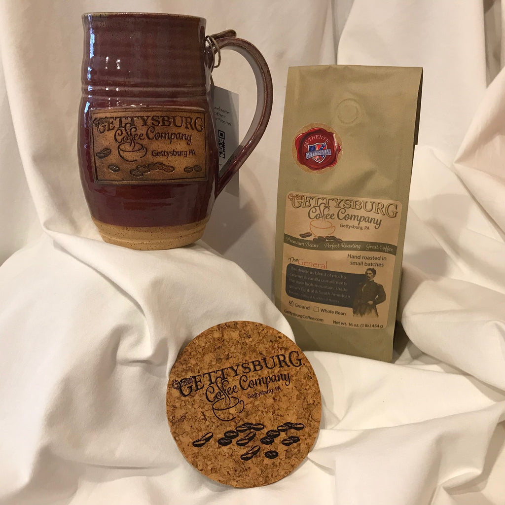 Mug, Coffee & Coaster Gift Pack