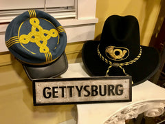Gettysburg Train Station Sign