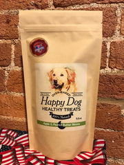 Happy Dog Healthy Treats-Apple & Peanut Butter Moons