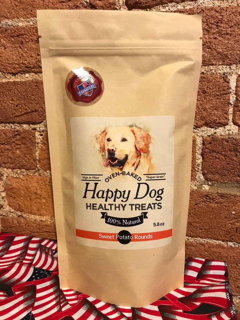 Happy Dog Healthy Treats-Sweet Potato Rounds