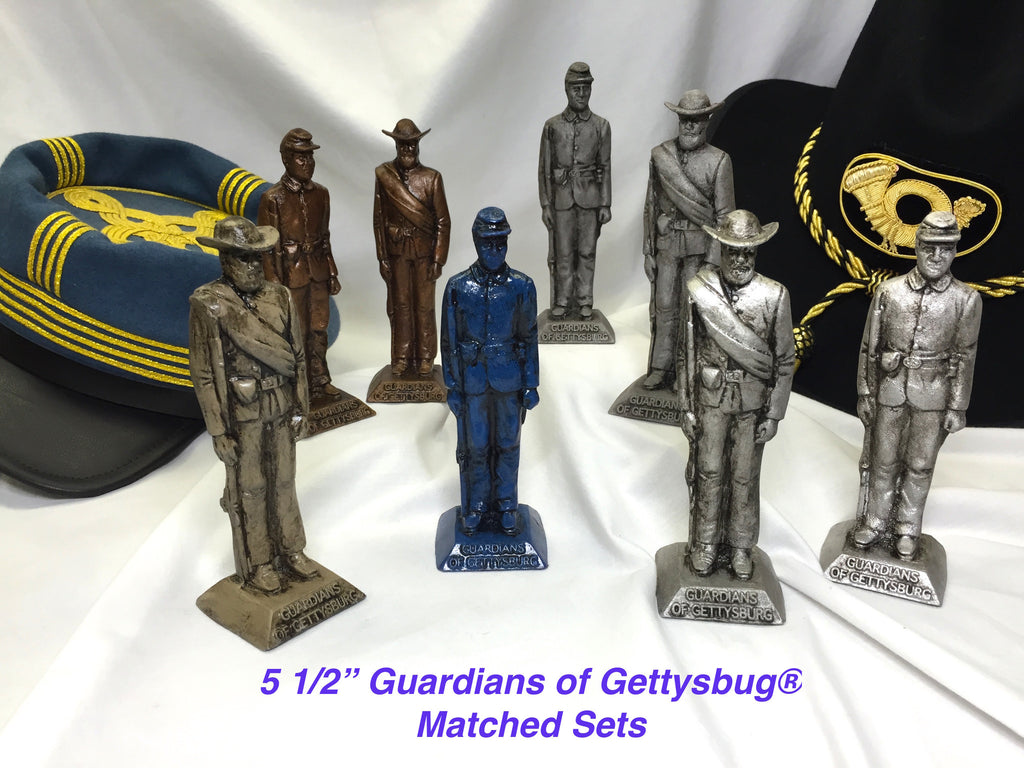 "5 1/2"" Guardians of Gettysburg® Statuary-Union & Confederate Set"