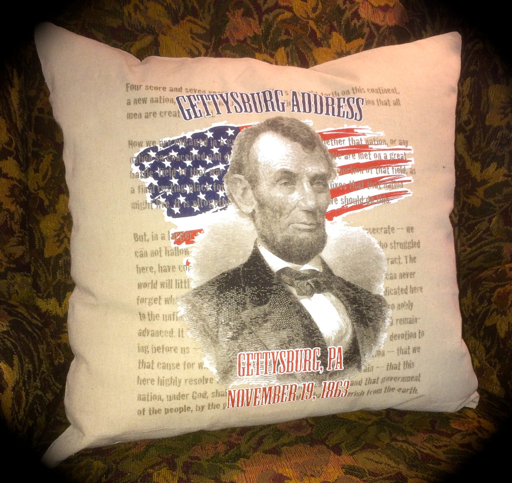Decorative Pillow-President Lincoln