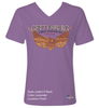 Gettysburg Eagle Front - Limited Edition - Ladies, V-Neck, Short Sleeve, T-Shirt
