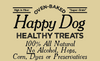 Happy Dog Healthy Treats-Peanut Butter Crunch Stars
