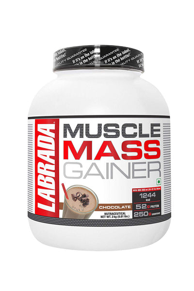 Labrada Muscle Mass Gainer 6Lbs Chocolate Flavor