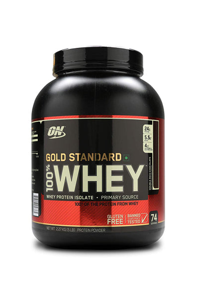 Optimum Nutrition (ON) Gold Standard Whey Isolate 5Lbs Protein Powder Double Rich Chocolate Flavor