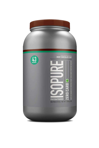 Nature's Best Isopure 3Lbs Protein Powder Mint Chocolate Flavor