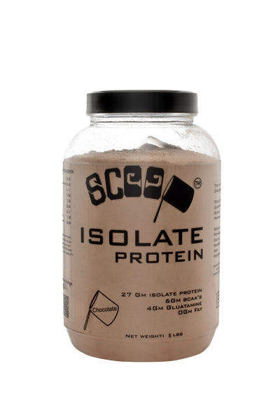 Scoop isolate protein 5lbs chocolate