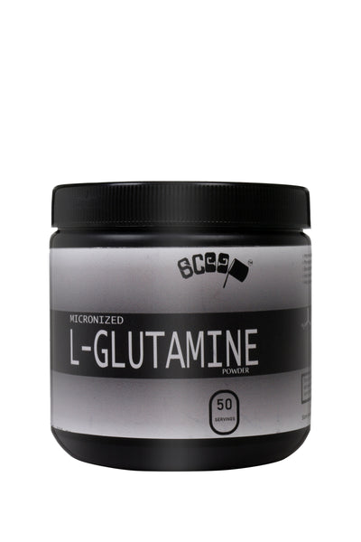 Scoop L-Glutamine - Unflavoured - 50 Serving - Post-workout Supplement - Scoop...with lot of gainz