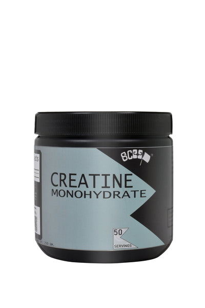 Scoop Creatine Monohydrate - 50 serving - Unflavoured - Muscle & Size Gaining Supplement - Scoop...with lot of gainz