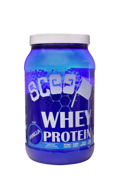 Scoop 100% whey protein 2lbs Vanilla flavour - Scoop...with lot of gainz